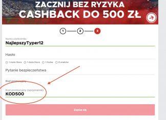 Betclic Polska daje zwrot 500 PLN na start!